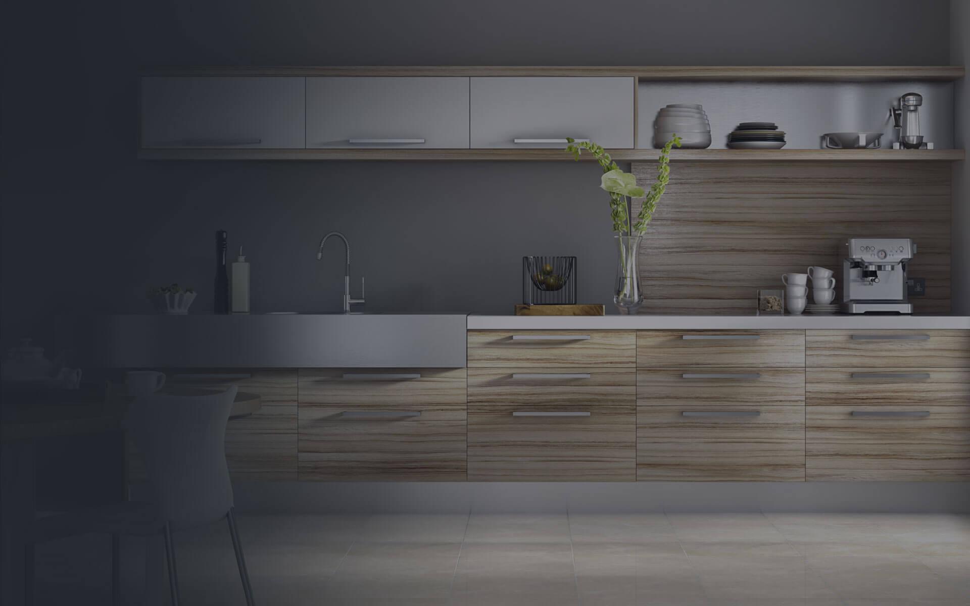 Cozinhas com móveis planejados